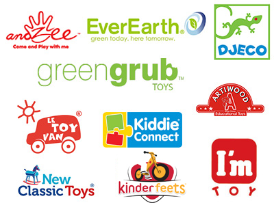 Quality Wooden Toy Brands from greengrub Wooden Toys